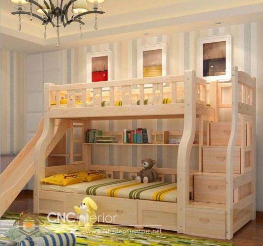 giường tầng có cầu trượt 10