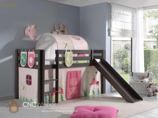 giường tầng có cầu trượt 14