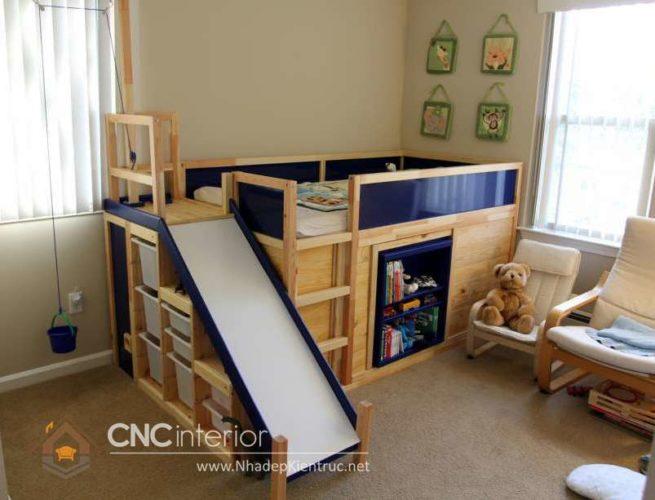 giường tầng có cầu trượt 17
