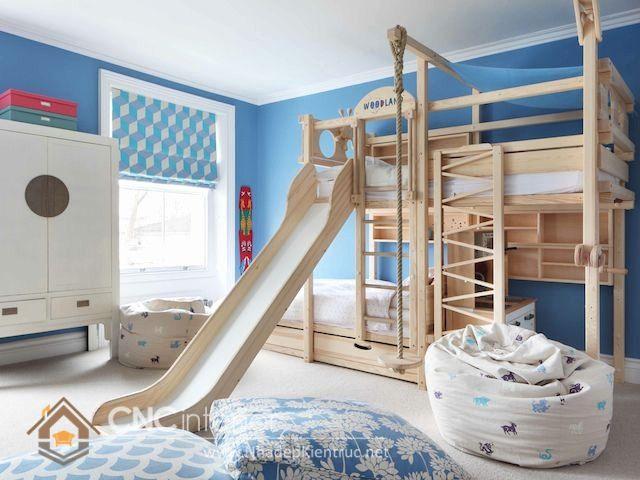 giường tầng có cầu trượt 21