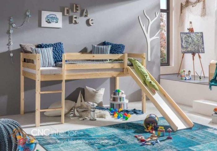 giường tầng có cầu trượt 24