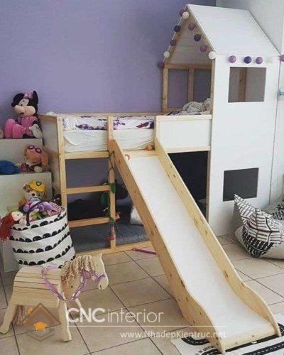 giường tầng có cầu trượt 3