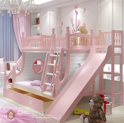 giường tầng có cầu trượt 8