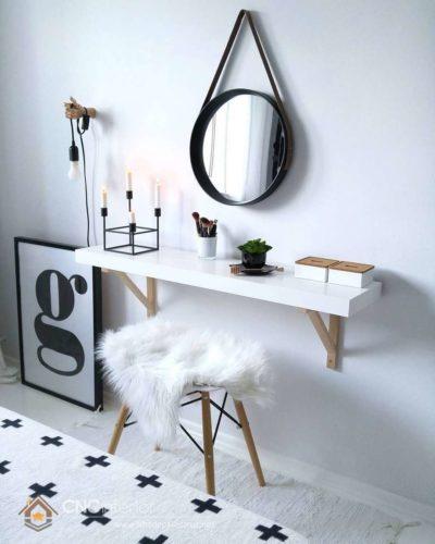 mẫu bàn trang điểm bằng gỗ 3