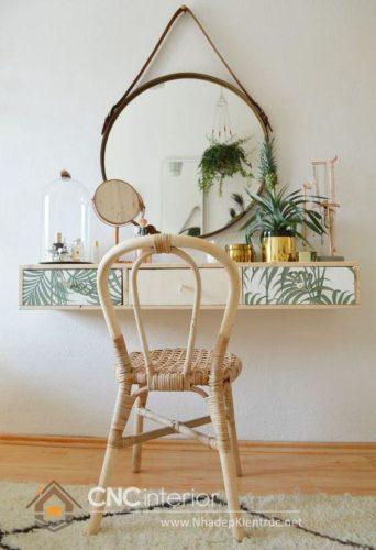 mẫu bàn trang điểm bằng gỗ 7