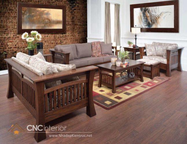 những bộ bàn ghế gỗ đẹp nhất 10
