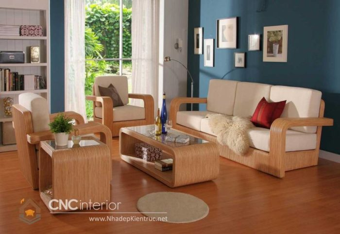 những bộ bàn ghế gỗ đẹp nhất 14