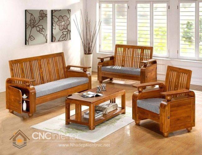 những bộ bàn ghế gỗ đẹp nhất 16