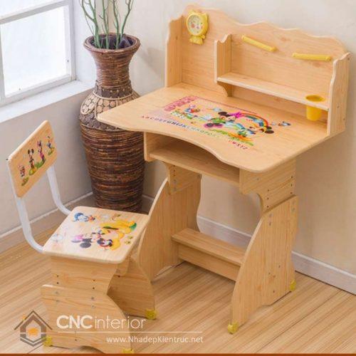 Kích thước bàn học trẻ em 6