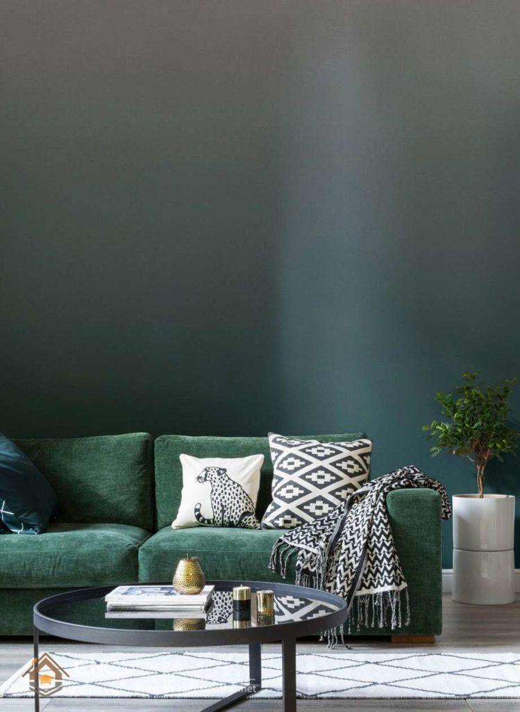 cách phối màu sơn phòng khách 5