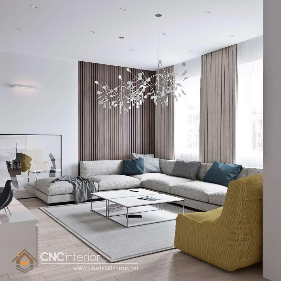 màu sơn phòng khách hiện đại 7