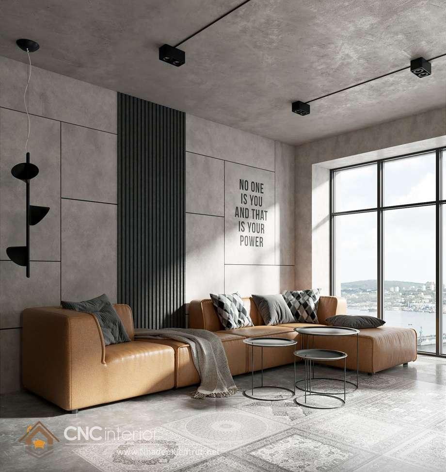 màu sơn phòng khách hiện đại 9