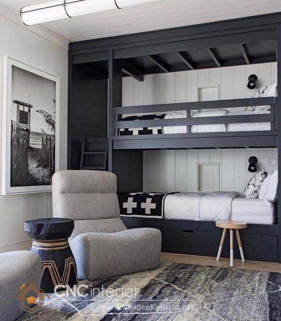 giường tầng đa năng cho người lớn kết hợp 1