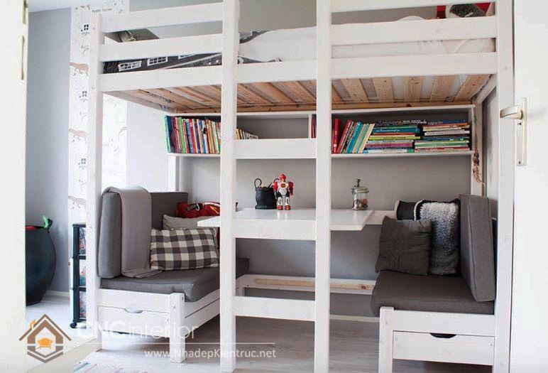 giường tầng đa năng kết hợp 10