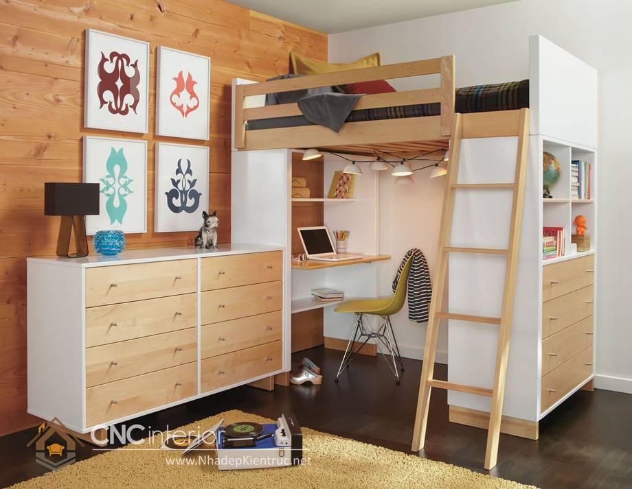 giường tầng đa năng kết hợp 9