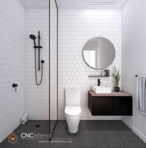 thiết kế nhà vệ sinh diện tích nhỏ 11