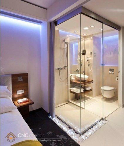 thiết kế nhà vệ sinh diện tích nhỏ 15