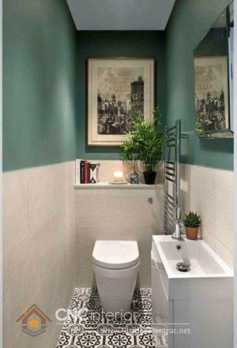 thiết kế nhà vệ sinh nhỏ đẹp 19