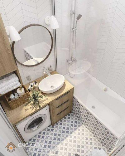 thiết kế nhà vệ sinh diện tích nhỏ 2