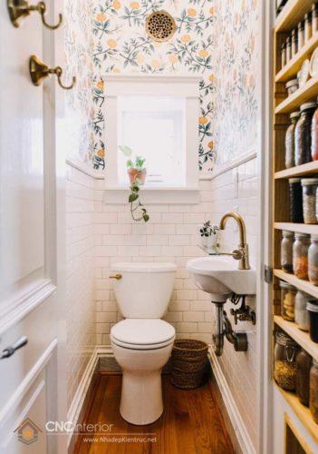thiết kế nhà vệ sinh nhỏ đẹp 20