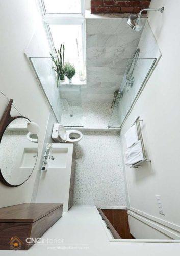 thiết kế nhà vệ sinh diện tích nhỏ 6