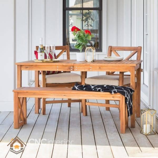 bàn ghế gỗ tràm có tốt không 3