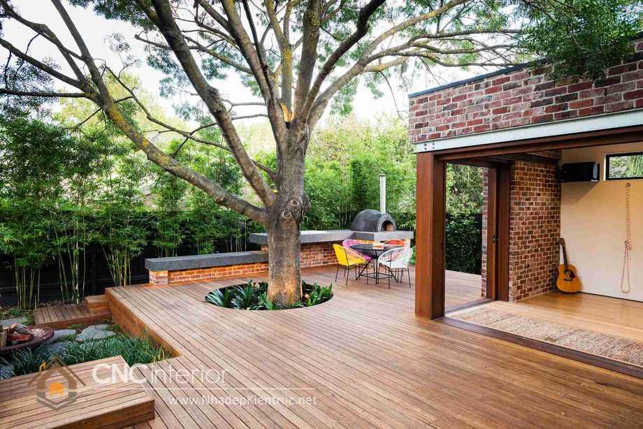 sàn gỗ ngoài trời bằng gỗ Tràm 7
