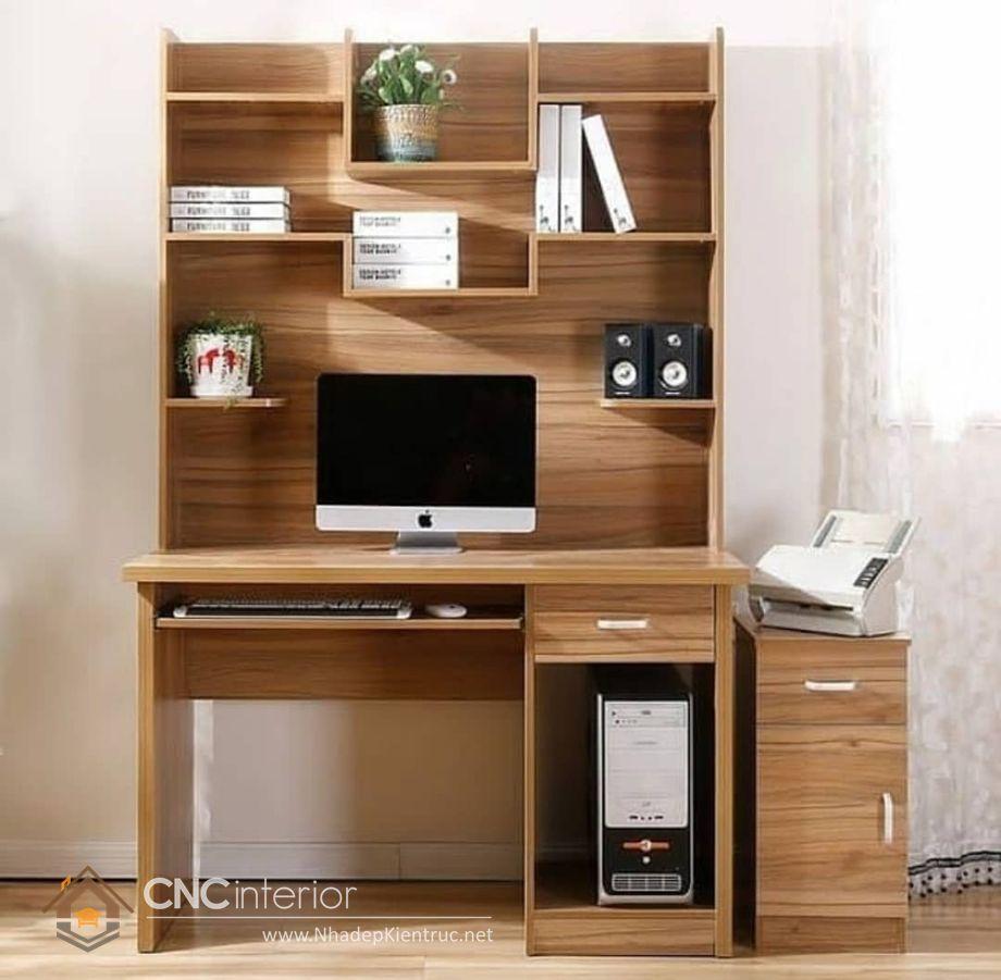 bàn vi tính gỗ tự nhiên 14