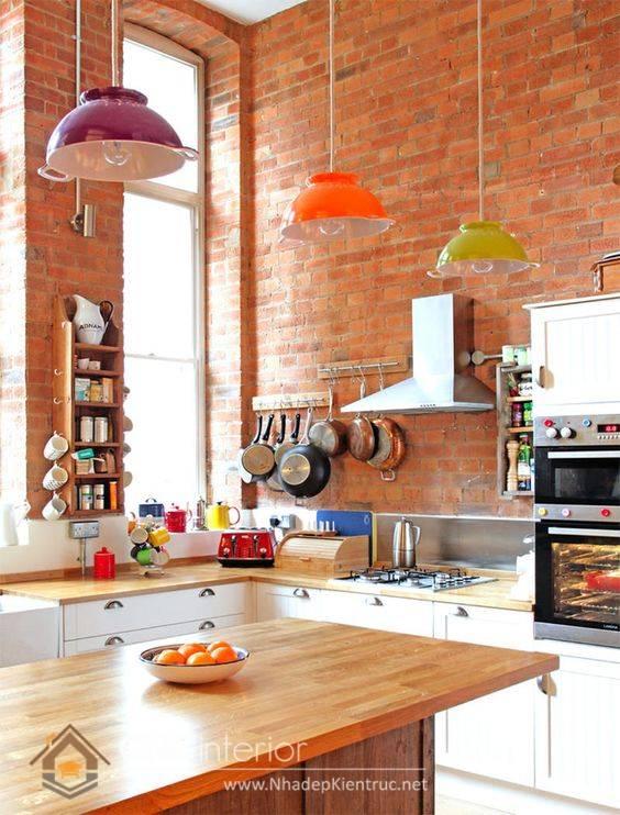 nhà bếp phong cách Retro 11