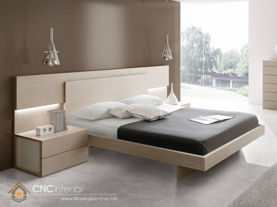 hướng kê giường ngủ vợ chồng theo mệnh kim 2