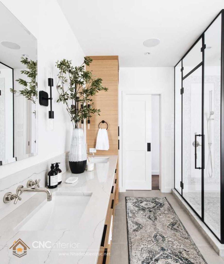 kích thước cửa nhà vệ sinh gia đình tiêu chuẩn hợp lý 15