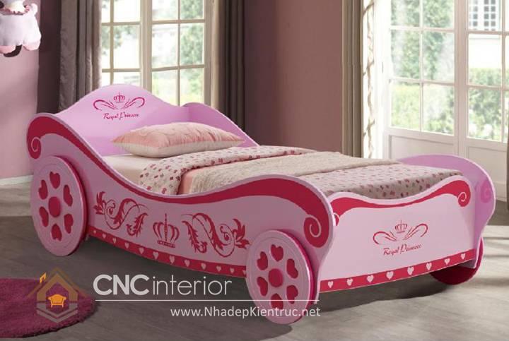 Giường ngủ ô tô dành cho bé gái 11