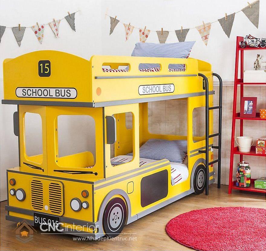 giường tầng ô tô cho trẻ em 15