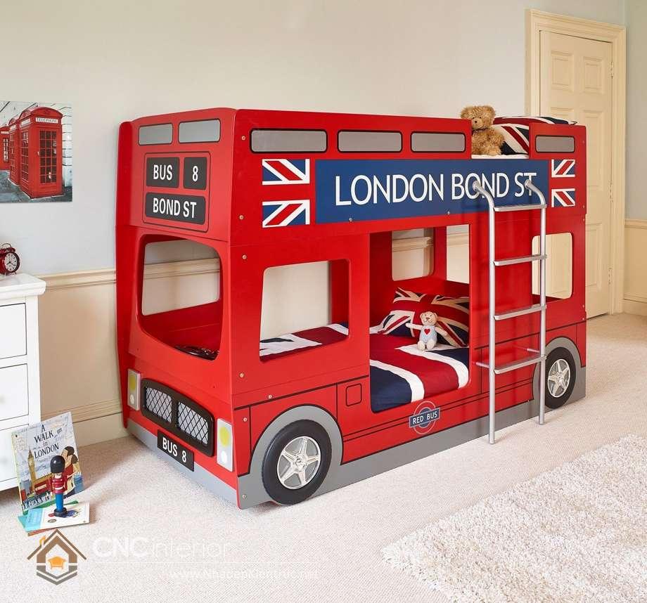 giường tầng ô tô cho trẻ em 17