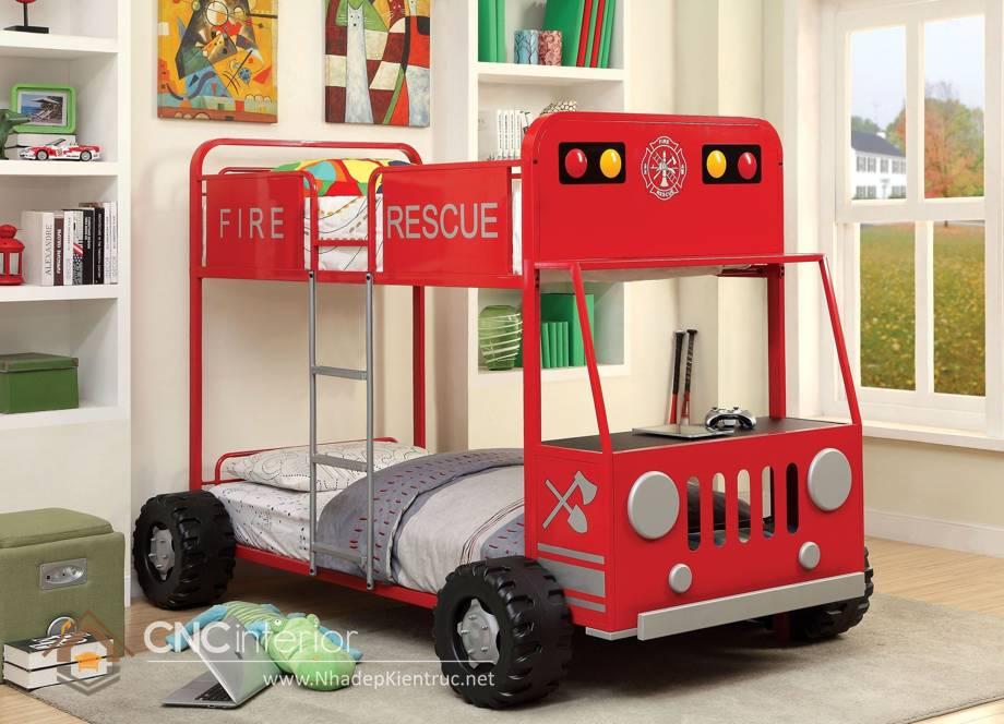 giường tầng ô tô cho trẻ em 18