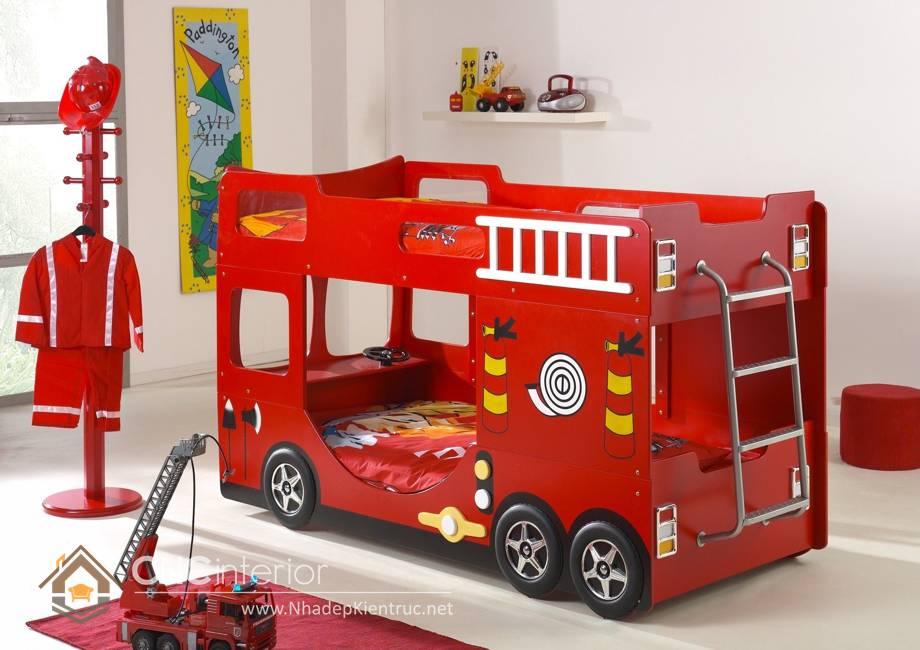 giường tầng ô tô cho trẻ em 19