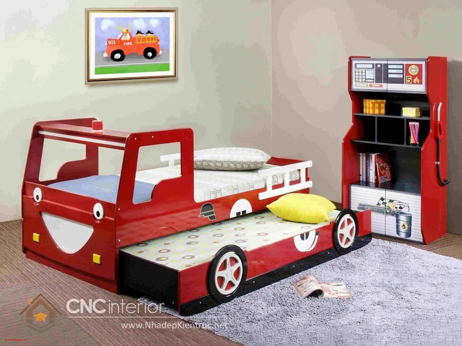 giường ngủ trẻ em hình ô tô 21