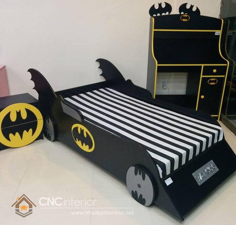 giường ô tô cho bé trai 4