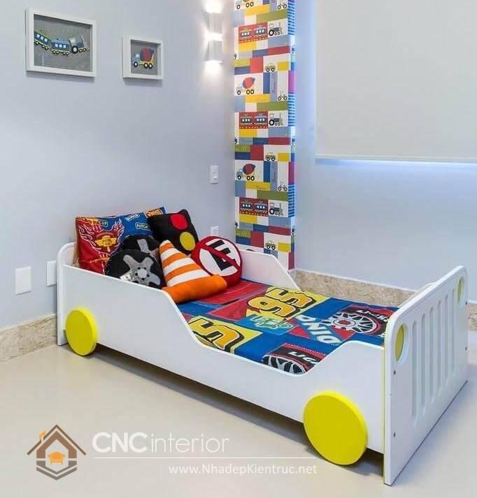 giường ô tô cho bé trai 8