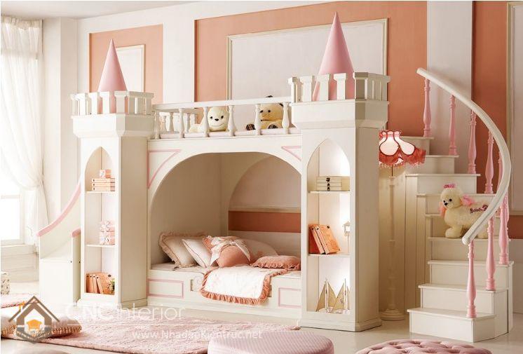 giường ngủ tầng trẻ em