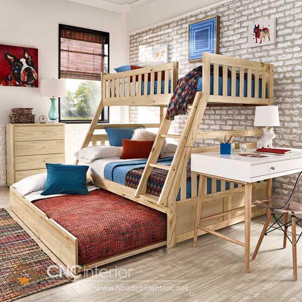 Giường tầng thấp 1