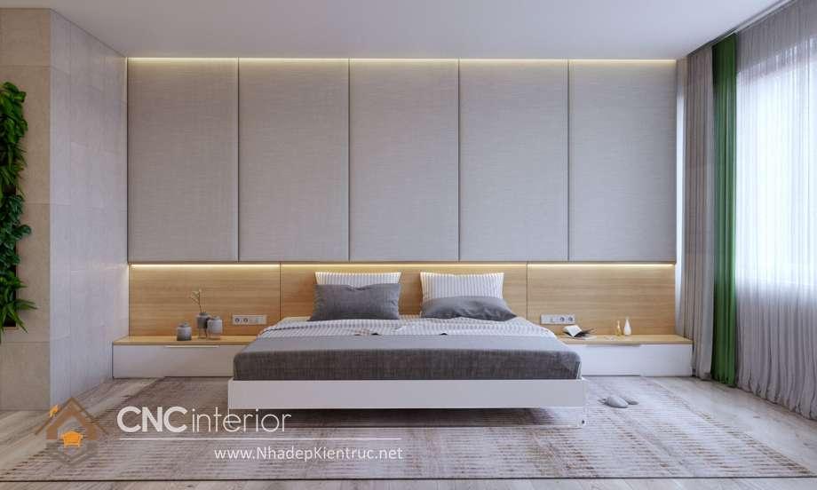 bộ giường ngủ màu trắng 27