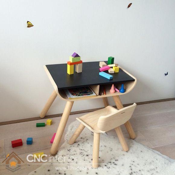 bàn học cho bé mẫu giáo 9
