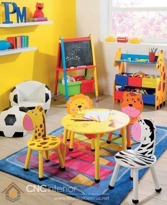 bàn học cho bé mẫu giáo 1