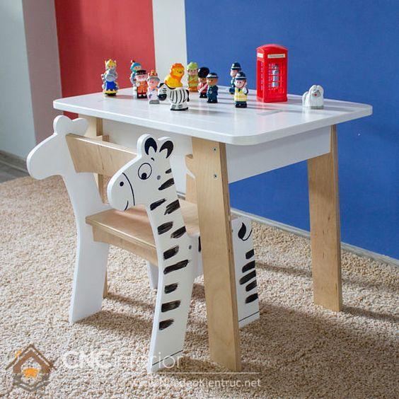 bàn ghế hình thù độc đáo 1