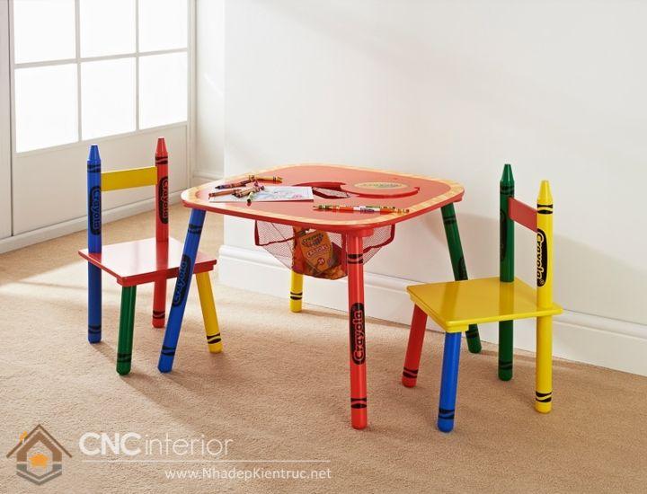 bàn ghế hình thù độc đáo 2