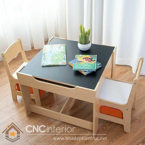 bàn học cho bé mẫu giáo 5