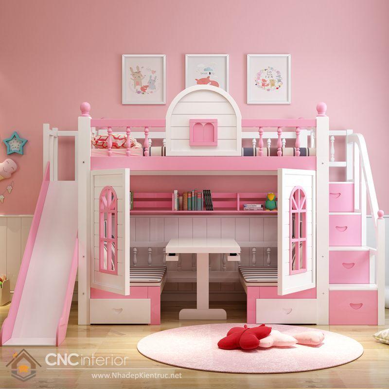 có nên mua giường tầng cho bé 2