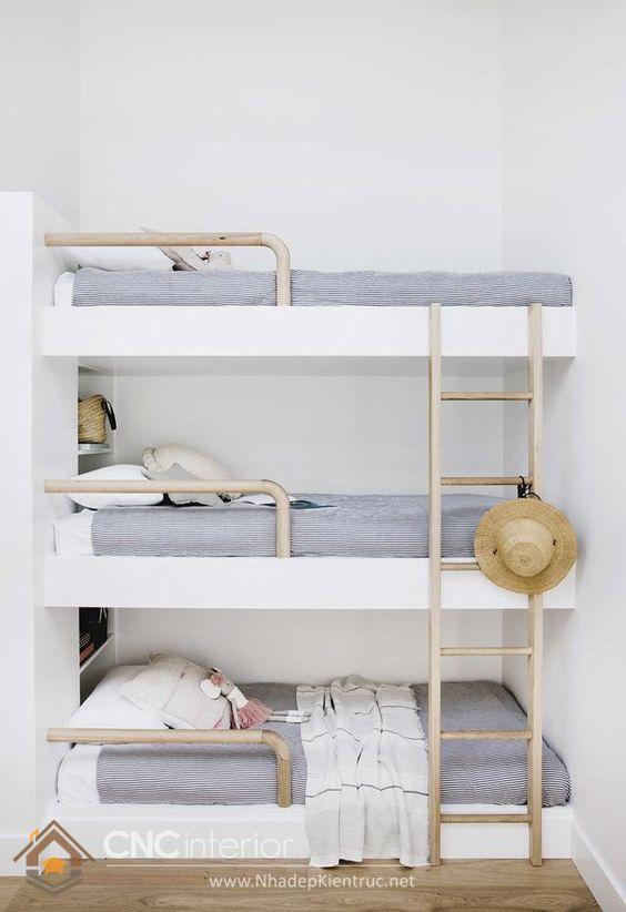 Bố trí nệm giường