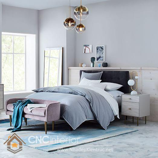 Nội thất phòng ngủ mệnh Thủy
